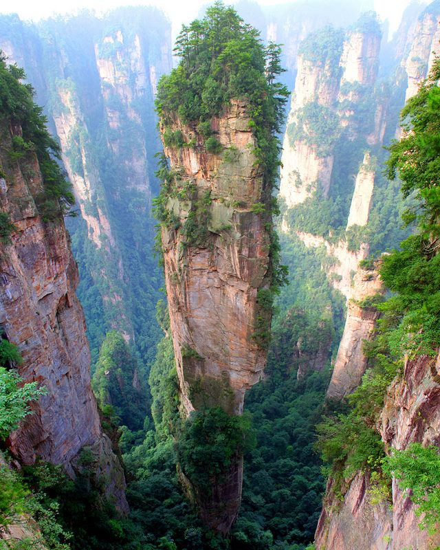 Tianzi-Mountains-China